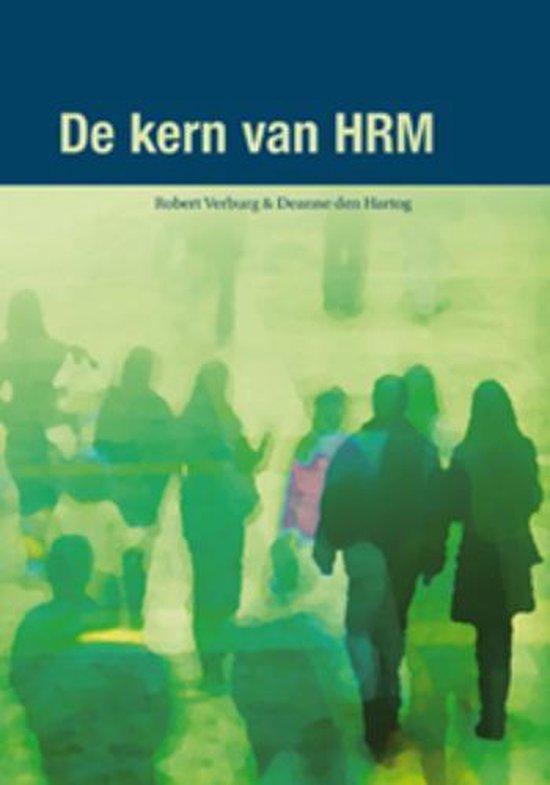 De kern van HRM - R. Verburg |