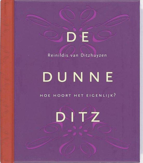 De Dunne Ditz - Reinildis van Ditzhuyzen pdf epub