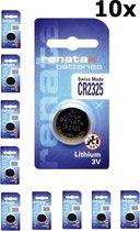 Renata CR2325 3V Lithium batterij - 10 Stuks
