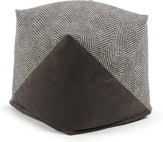 Kave Home - Spiga poef 45 x 45 cm