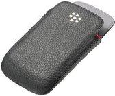 BlackBerry Leren Case - Zwart