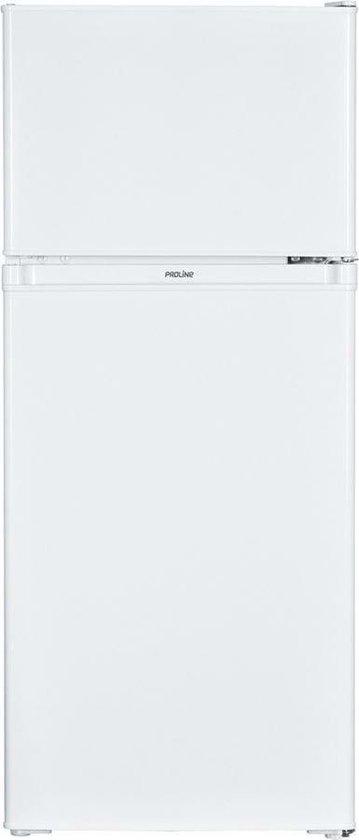 Koelkast met vriesvak: Proline DD131-1 - Compacte Koel-vriescombinatie - Wit, van het merk BCC Proline