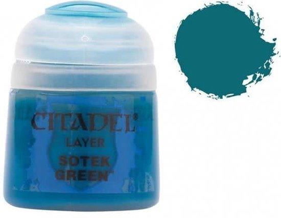 Afbeelding van het spel Citadel Layer: Sotek Green 12ml Paint