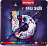 Bruynzeel Teens blik 24 kleurpotloden