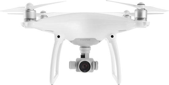 Phantom 4 Pro wit met witte achtergrond