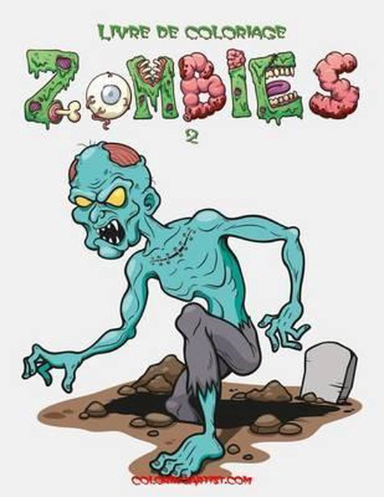 Livre de Coloriage Zombies 2