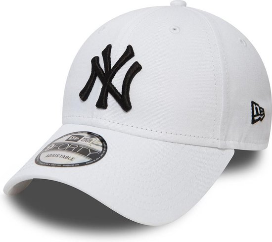 New Era 940 LEAG BASIC New York Yankees Cap - White - One size
