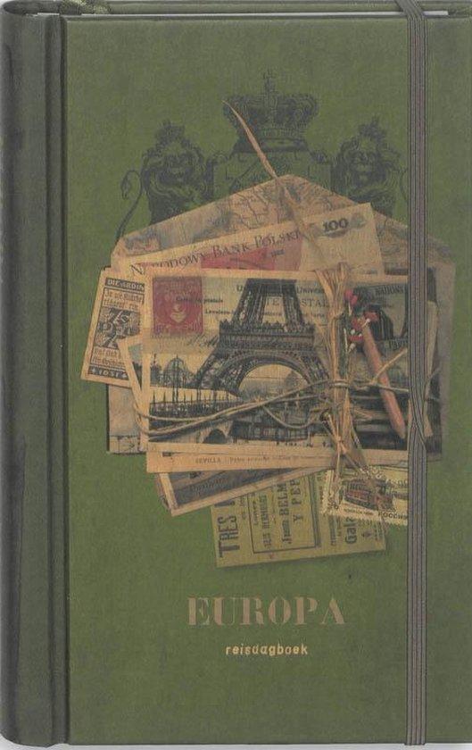 Cover van het boek 'Reisdagboek Europa'
