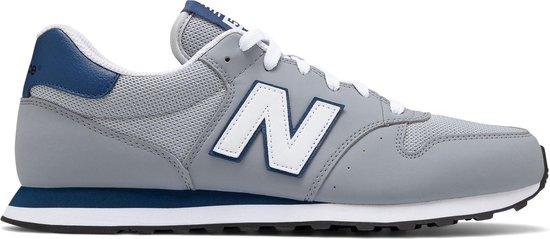 New Balance GM500  Sneakers - Maat 42 - Unisex - grijs/donker blauw/wit