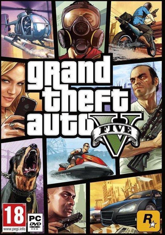 Grand Theft Auto V (PC) - Rockstar Social Club key