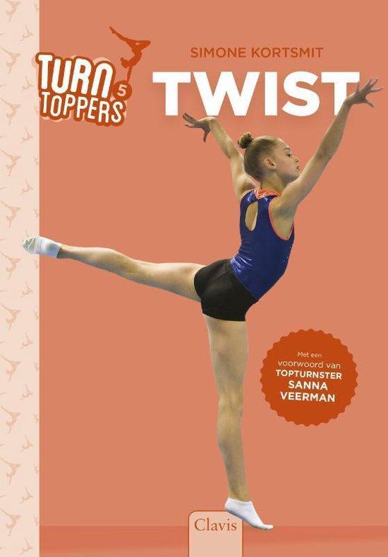 Boek cover Turntoppers  -   Twist van Simone Kortsmit (Hardcover)