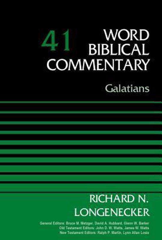 Boek cover Galatians, Volume 41 van Richard N. Longenecker (Hardcover)