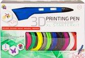 3Dandprint 3D Pen Starterspakket Blauw - Inclusief