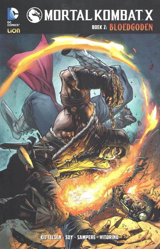 Mortal Combat X 02. Bloedgoden - Shawn Kittelsen  