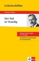 Klett Lektürehilfen - Thomas Mann, Der Tod in Venedig