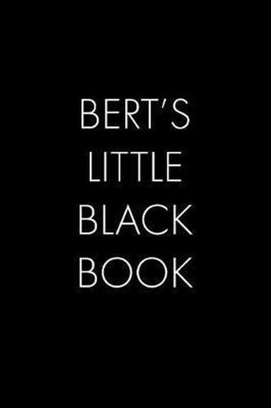 Bert's Little Black Book