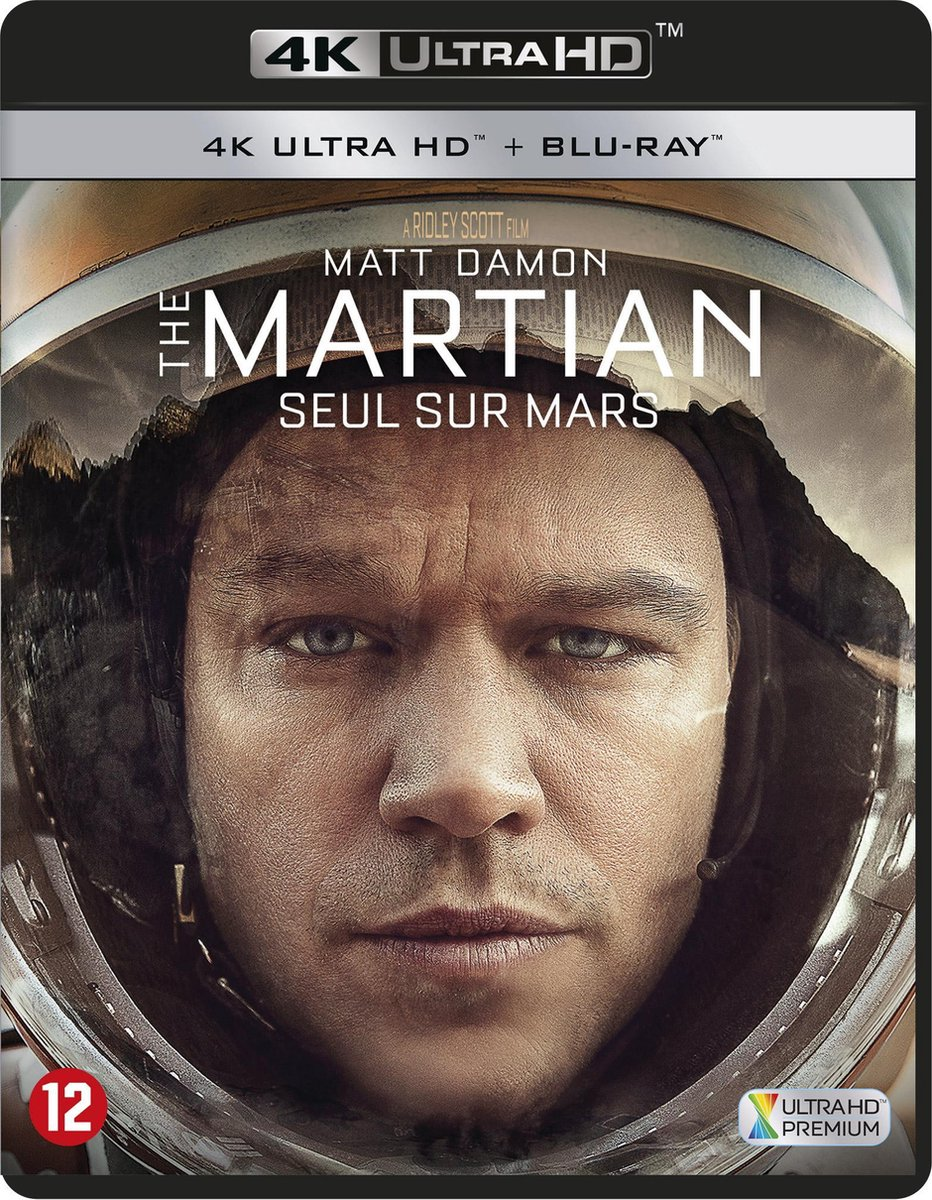 The Martian (4K Ultra HD Blu-ray)-
