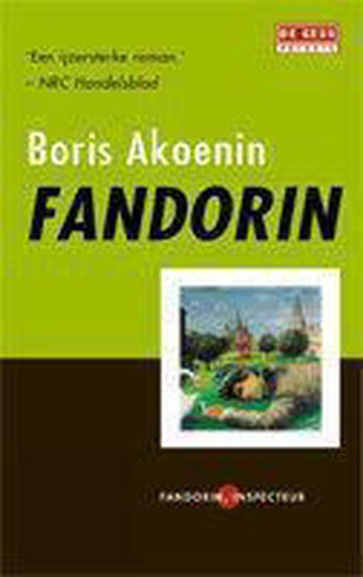 Cover van het boek 'Fandorin'