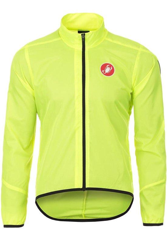 | Castelli Squadra Long Jacket yellow fluo Maat XL
