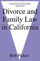 Omslag Divorce and Family Law in California