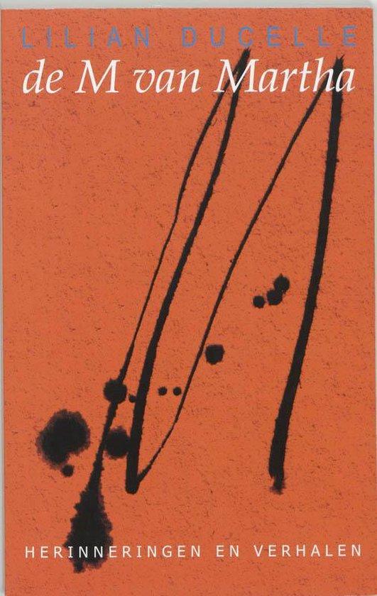Cover van het boek 'De M van Martha' van L. Ducelle