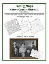Family Maps of Carter County, Missouri