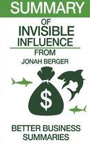 Invisible Influence   Summary