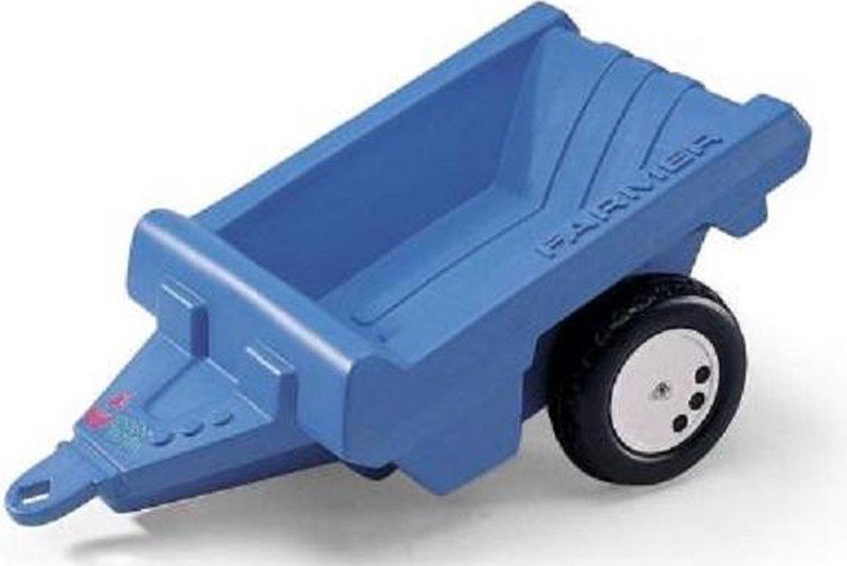 Rolly Toys Aanhanger Blauw 1-Assig