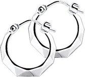 The Jewelry Collection Oorringen Lapide - Zilver