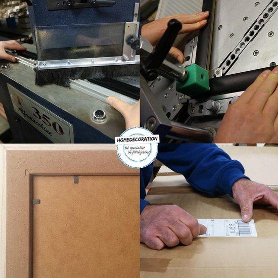 Homedecoration Colorado – Fotolijst – Fotomaat – 26 x 74 cm – Zilver mat