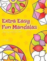 Extra Easy Fun Mandalas Colouring Book For Kids