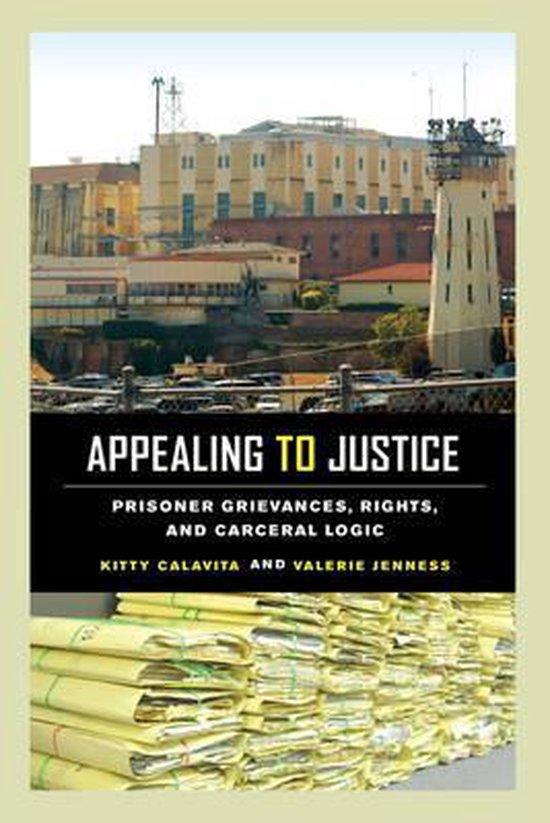 Boek cover Appealing to Justice van Kitty Calavita (Paperback)