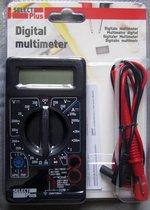 Digitale Multimeter DT-830B Select Plus - Cat 1 - Max. 240V - inclusief 9V Batterij - Spanningsmeter - Meetkabels - Elektra