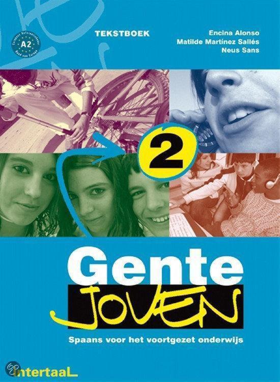 Tekstboek Gente joven - Nederlandstalige editie 2 - E. Alonso |