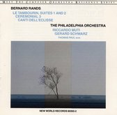 Bernard Rands: Canti Dell Eclisse/Le Tambourin/Cer