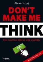 Boek cover Dont make me think van Steve Krug (Paperback)
