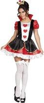 Volwassenenkostuum Queen of hearts (M)