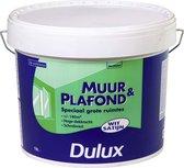 Dulux Muur- & Plafondverf - Wit - Satin - 10 liter