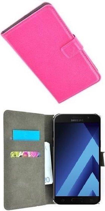 Samsung Galaxy A5 2017 Hoesje P Wallet Bookcase Roze