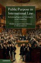 Omslag Public Purpose in International Law