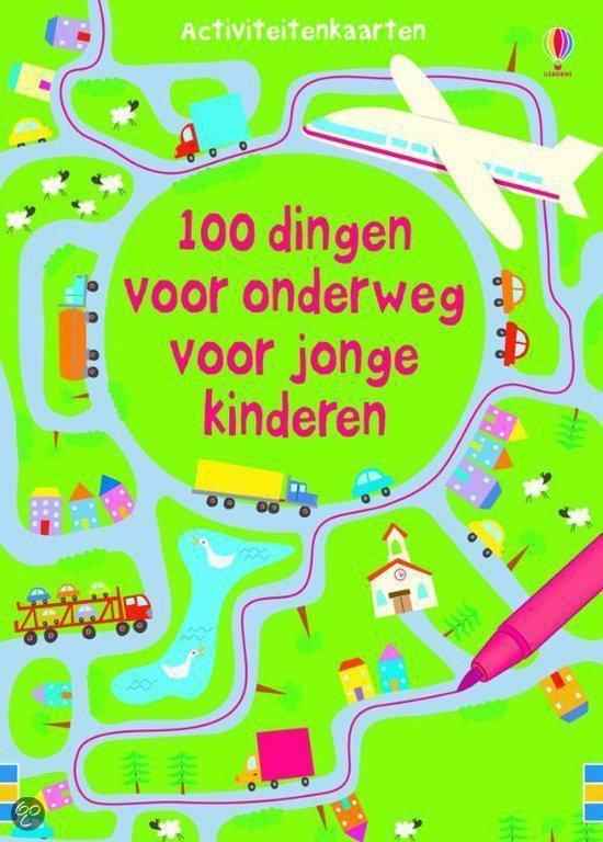 Cover van het boek '100 Dingen om onderweg te doen voor jonge kinderen' van  Nvt