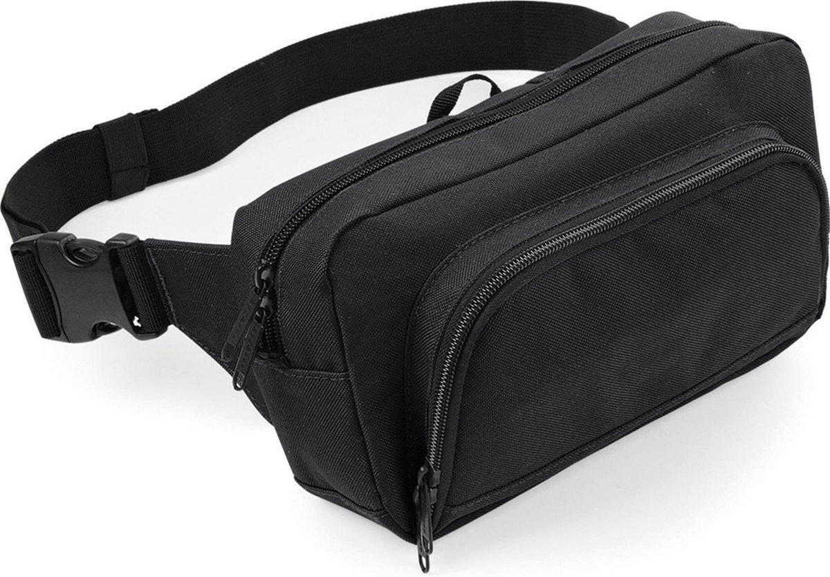 Bagbase De Lux Heuptas Zwart 2.5 Liter
