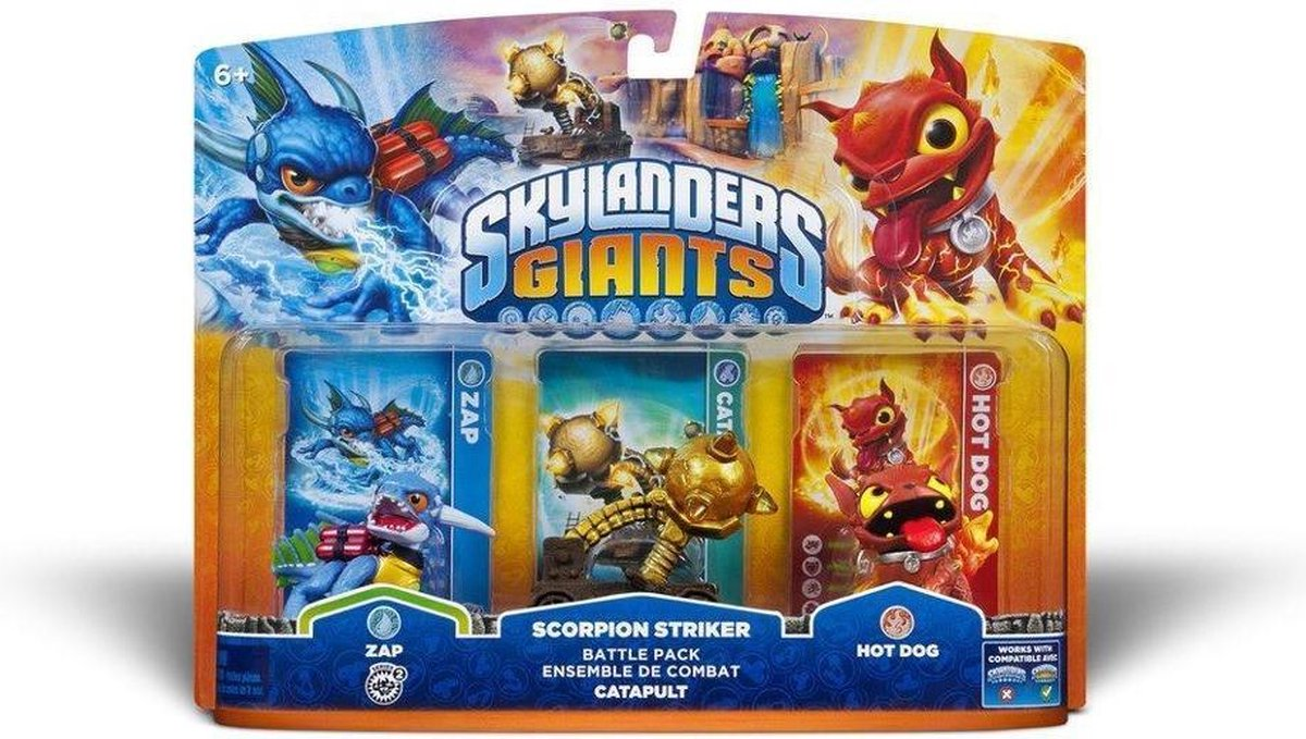 Skylanders Giants: Battle Pack Zap - Merkloos