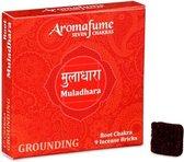 Aromafume Chakra Wierookblokjes: Muladhara - basis chakra
