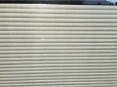 raamfolie met horizontale strepen - meer privacy - privacy raamfolie - strepen motief - Anti-inkijk 68 x 300 cm raamfolie met strepen