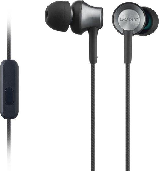 Sony MDR-EX650AP - In-ear oordopjes - Zwart