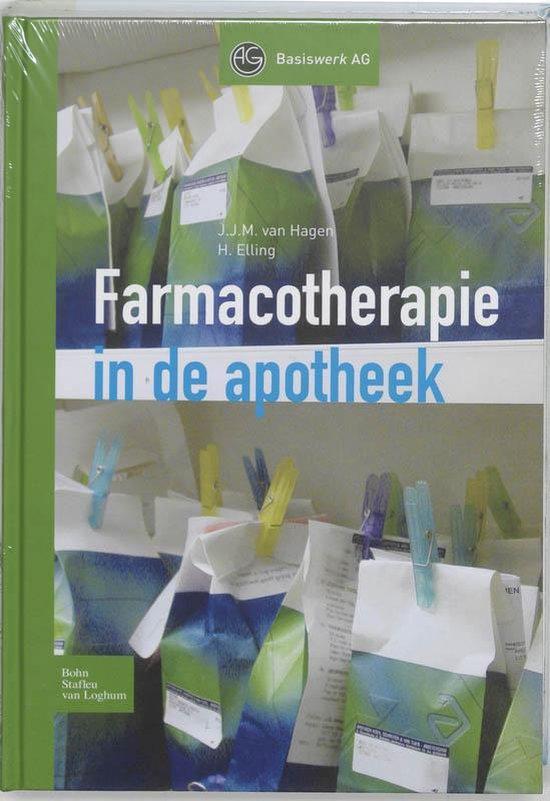 Farmacotherapie in de apotheek + cd-rom - J.J.M. van Hagen |