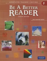 Be a Better Reader Level F Ate
