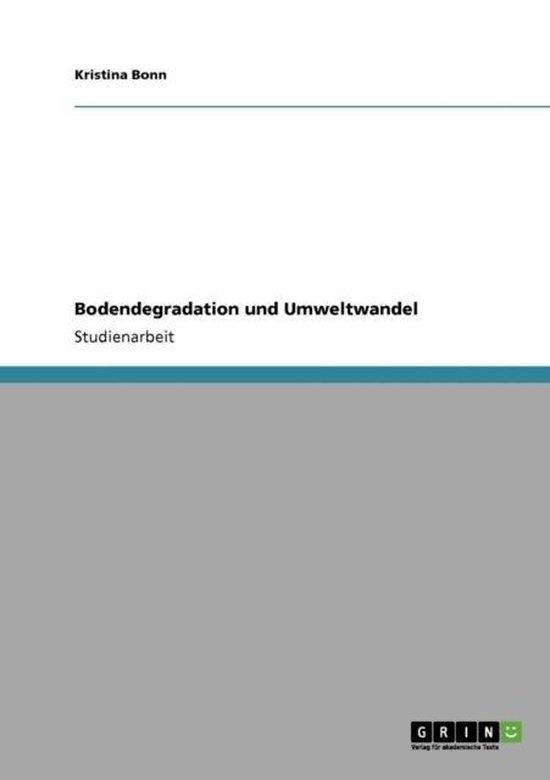 Bodendegradation und Umweltwandel