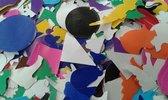 Plakfiguren gemengd ( niet zelfklevend ) ca. 3000 stuks sitspapier